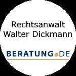 Logo Rechtsanwalt Walter Dickmann
