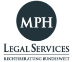 Logo MPH Legal Services Bankrecht bundesweit.