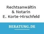 Logo Rechtsanwältin und Notarin  Elisabeth Korte-Hirschfeld