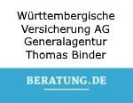 Logo Württembergische Versicherung AG Generalagentur Thomas Binder