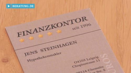 Filmreportage zu Jens Steinhagen Finanzkontor