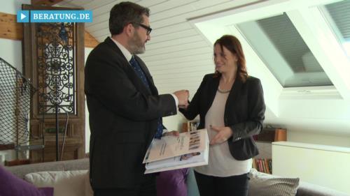Filmreportage zu Geprüfter Finanzanlagenfachmann Fulvio Longo selbstständiger Partner der finanzprofi AG