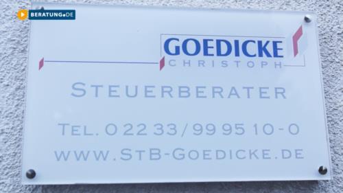 Herr Goedicke Christoph Steuerberater - BERATUNG.DE