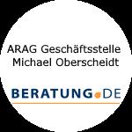 Logo ARAG Geschäftsstelle  Michael Oberscheidt