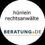 Logo hünlein rechtsanwälte