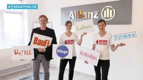 Filmreportage zu Matthias Cimander  Generalvertretung der Allianz