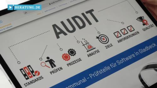 Filmreportage zu audit-kommunal Prüfstelle für Software