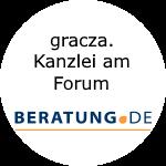 Logo gracza.  Kanzlei am Forum