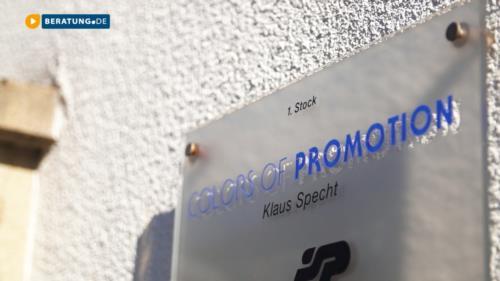 Filmreportage zu Colors of Promotion Klaus Specht