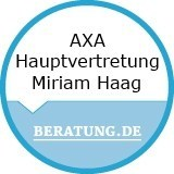 Logo AXA Hauptvertretung  Miriam Haag