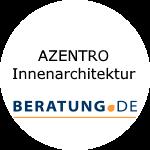 Logo AZENTRO Innenarchitektur
