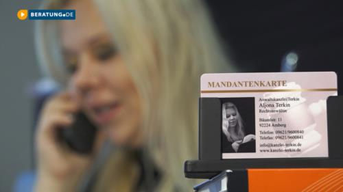 Filmreportage zu ANWALTSKANZLEI | TERKIN Aljona Terkin | Rechtsanwältin