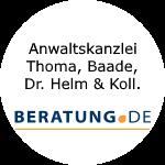 Logo Anwaltskanzlei Thoma, Baade, Dr. Helm & Koll.