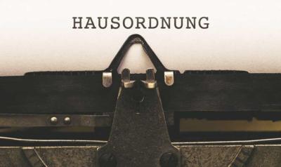 Die Hausordnung – welche Vorschriften gelten dürfen - BERATUNG.DE